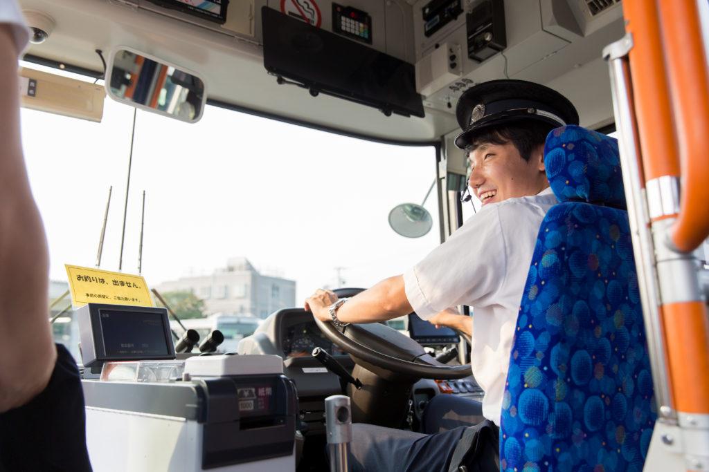 【正社員】バス運転手 大型自動車第二種免許なし